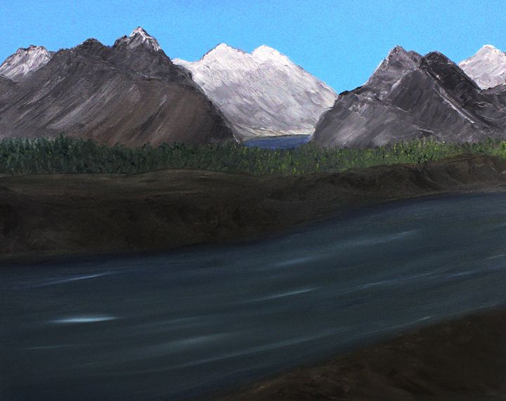 Up Country (The River) - Richersd Art Studios, LLC