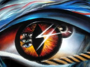 Eyes of immortal soul
