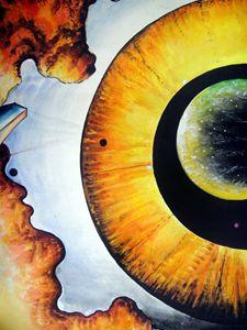Open mind. Door to eternity