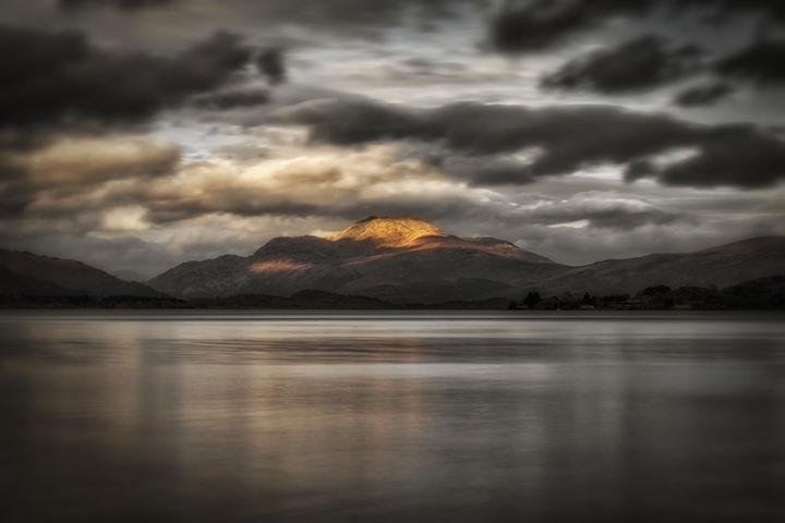 Sunset Over Loch Lomond - Jeremy Lavender Photography