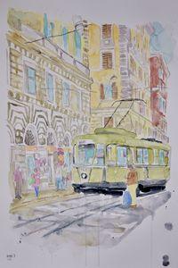 Rome I - Judith Miro Art