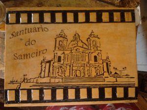 Sameiro sanctuary carved by hand