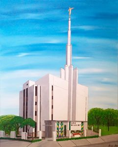 Tokyo, Japan Mormon Temple