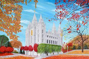 Salt Lake City, Utah Mormon Temple