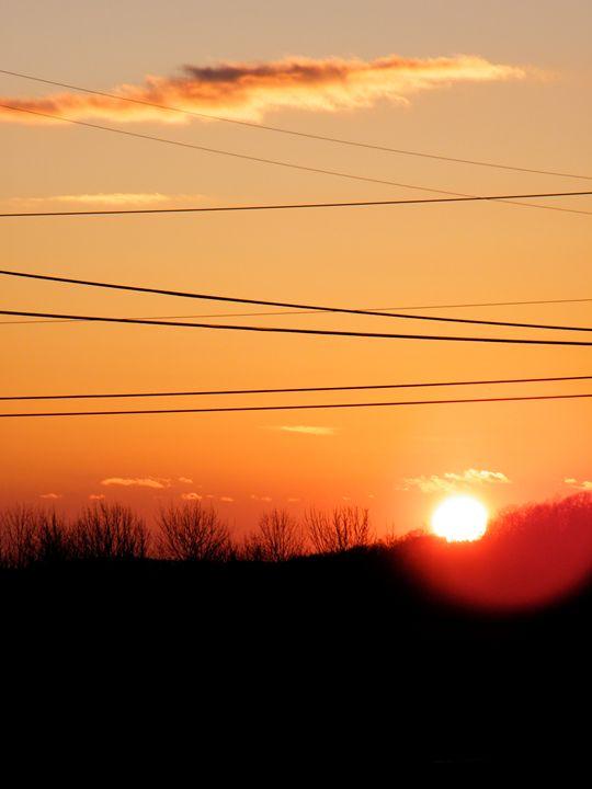 Sunset Scene - Brogan Fine Art