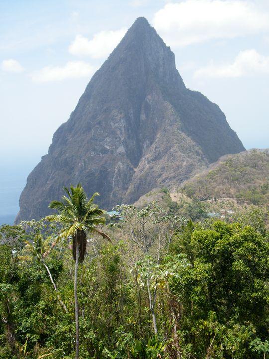 Tropical Island View - Brogan Fine Art
