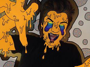 Drippy Zombie (Orange)
