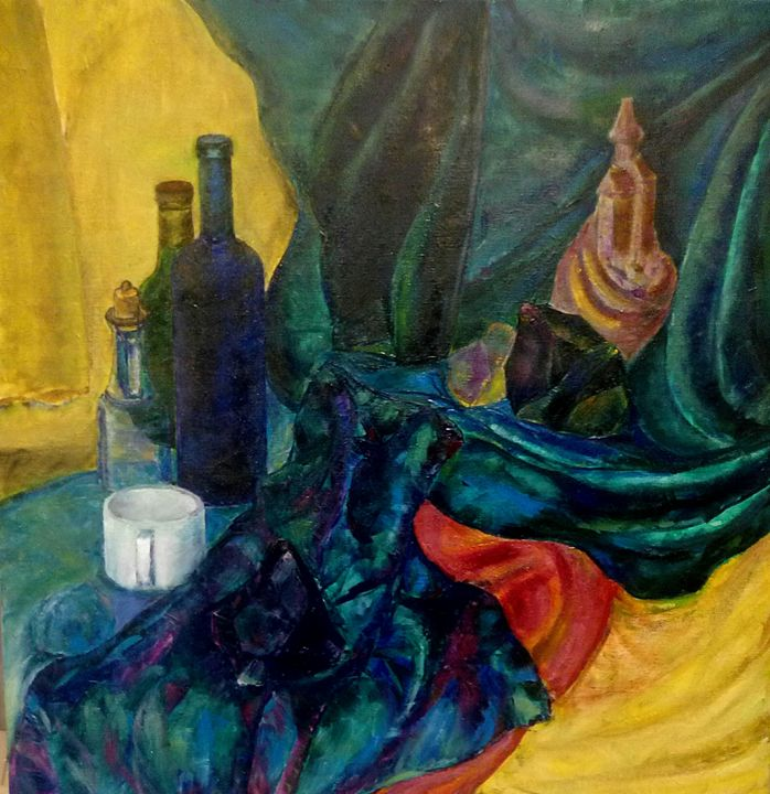 still life with 3 stones - Taveart