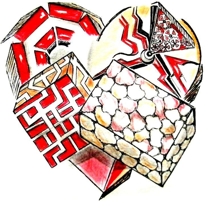 heartbreak III - vania stefou art