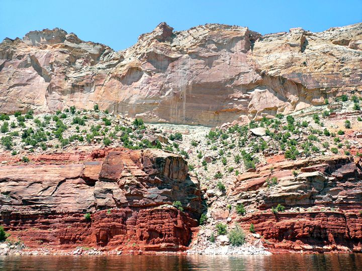 Pink Cliffs Flaming Gorge - Brian Shaw