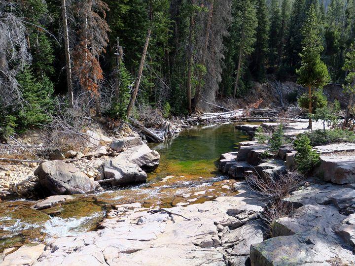 Upper Provo River pool - Brian Shaw