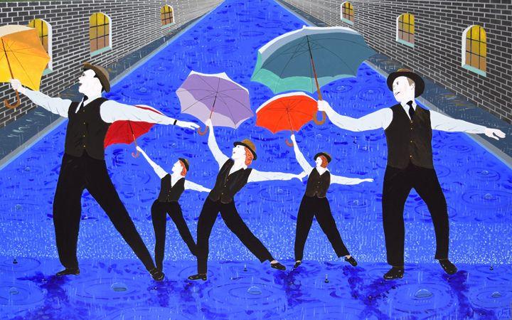 """ Singin In The Rain "" - braum's work"