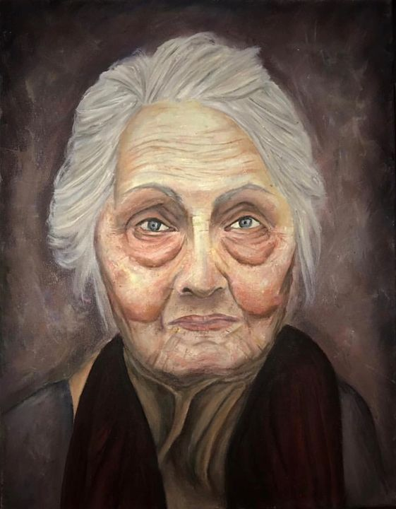The Grandmother - SandyPaints