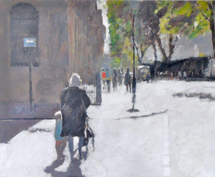 London street scene - Riverview Gallery