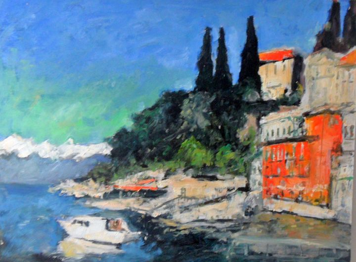 Lakeside Italy - Riverview Gallery
