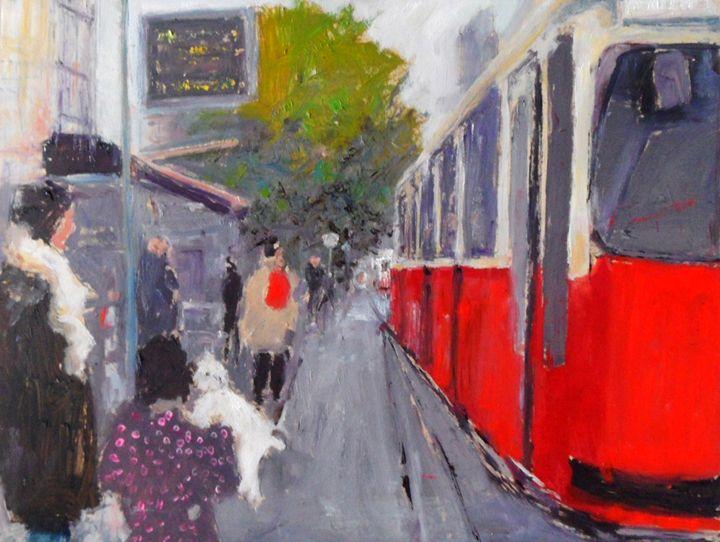 tram vienna - Riverview Gallery