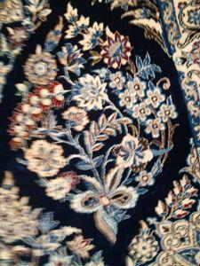 Iranian rug - signed