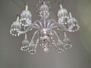 12 Arm Led crystal chandelier