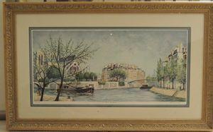 """Jeremy King """"Le pont St Louis"""""""