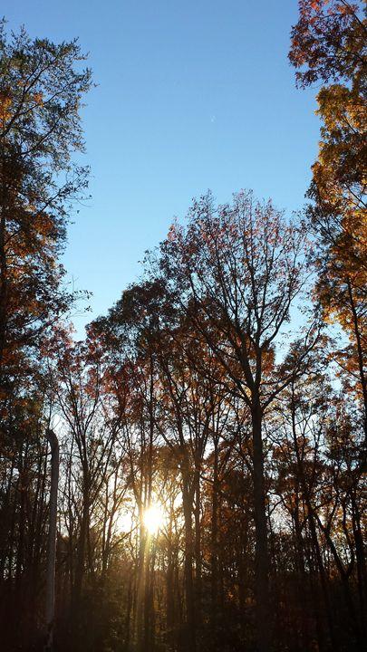 Autumn sunset - Good Stuff Industries