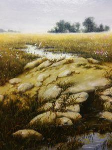 Stillness in the fields
