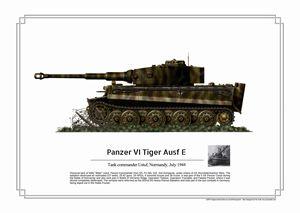 Panzer VI Tiger Ausf E - Ustuf