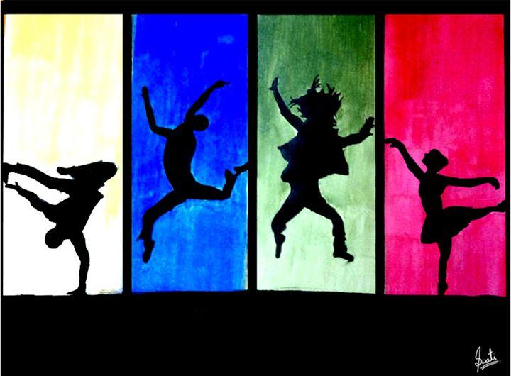 Dancers - different dance styles - Magical Art World