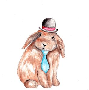 Tophat Bunny