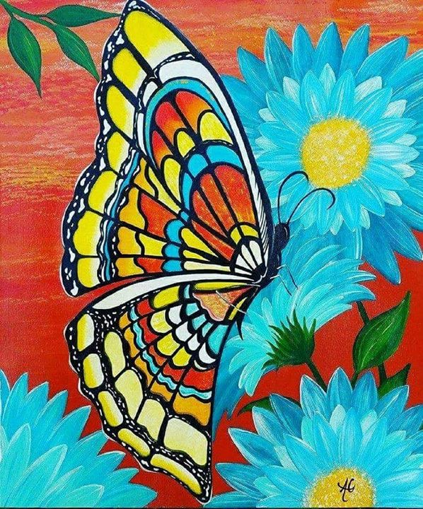 Autumn Butterfly - Purposed4Him