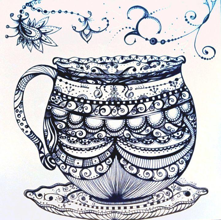 Fancy Cup of Tea - dianestudio