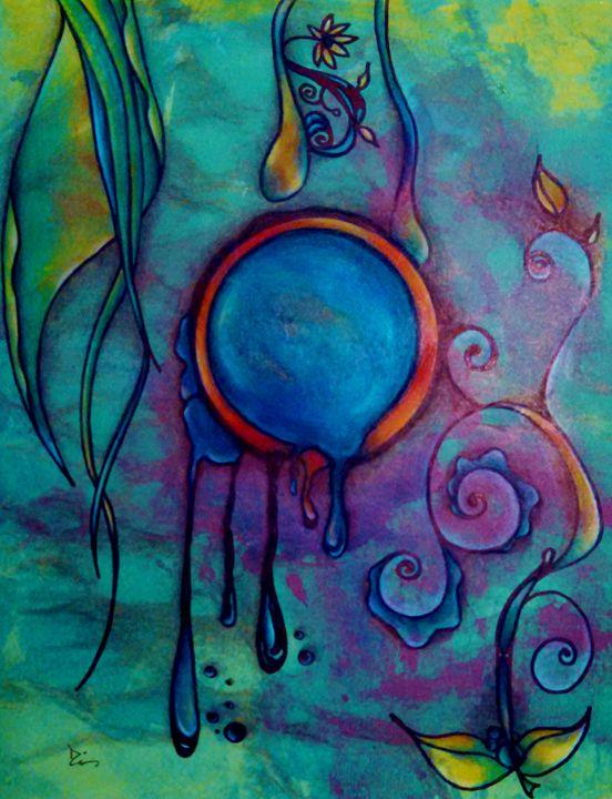 water abstract - dianestudio