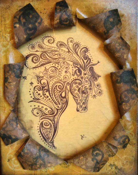horse abstract - dianestudio