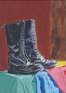 The boots Still life