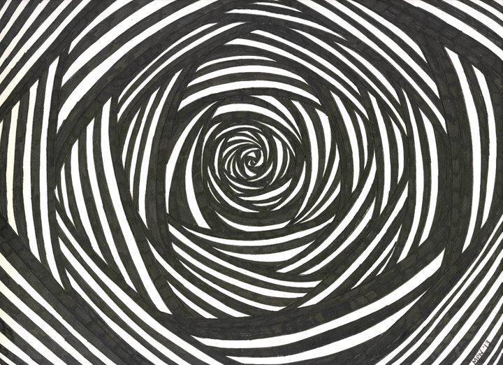 Black and White Rose - Taking Up Space