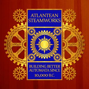 Atlantean Steamworks - Gold and Blue