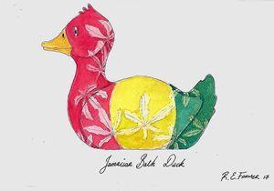 Jamaican Bath Duck - Ralphs Colours