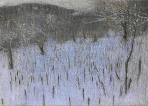 Hand Painting of Landscape by Kakha