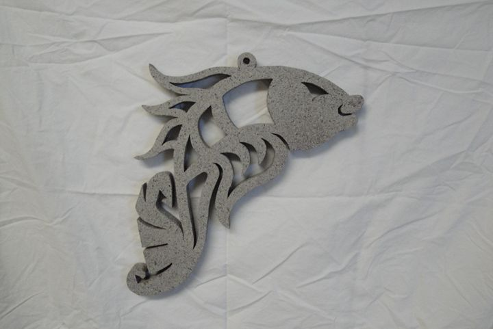 Sone Grey Coy Fish - Young Fortin Designs
