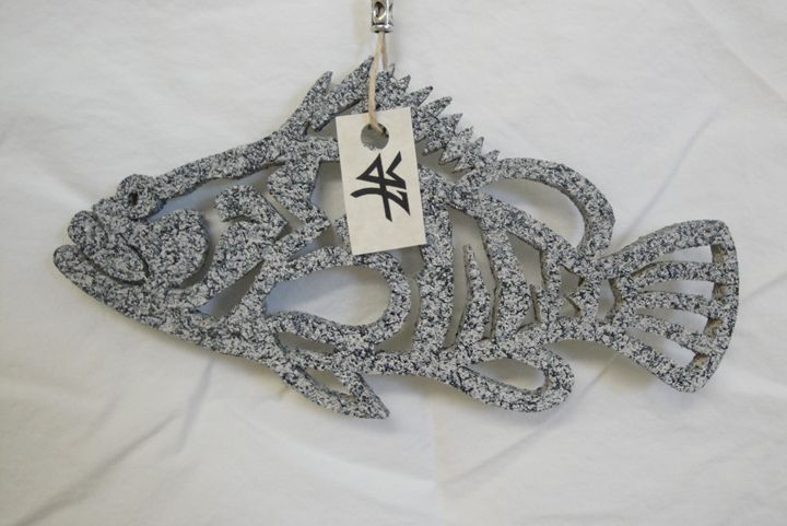 Stone Grey Grouper - Young Fortin Designs