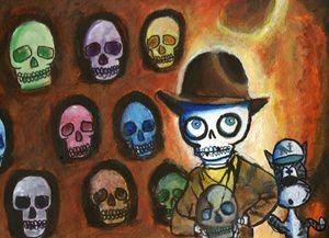Indiana Bones & the Cavern of Skulls