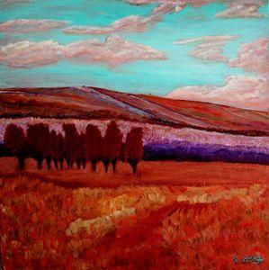Copper trees