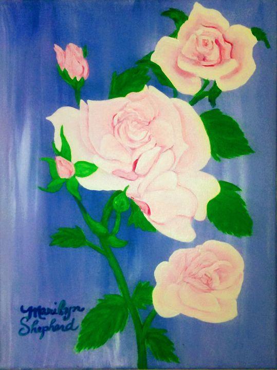 Delicate Roses - Marilyn's Own