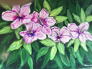 Azaleas - Art by Barbara Saul