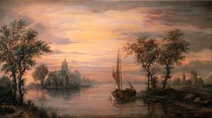 Dan Scurtu - River Sunset