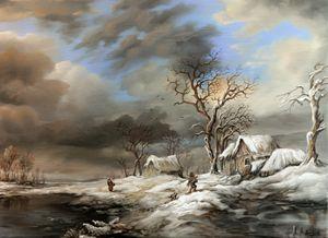 Dan Scurtu - Winter Scene