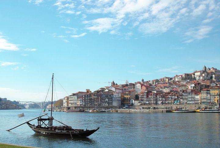 The Rabelo boat, Douro, Portugal - Dream Light