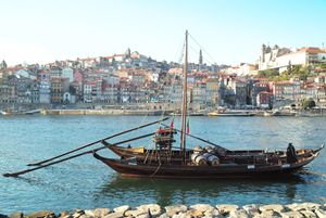 The Rabelo boats, Portugal