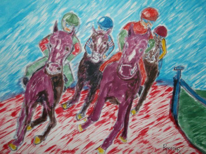 Race Horses - Rodster Art
