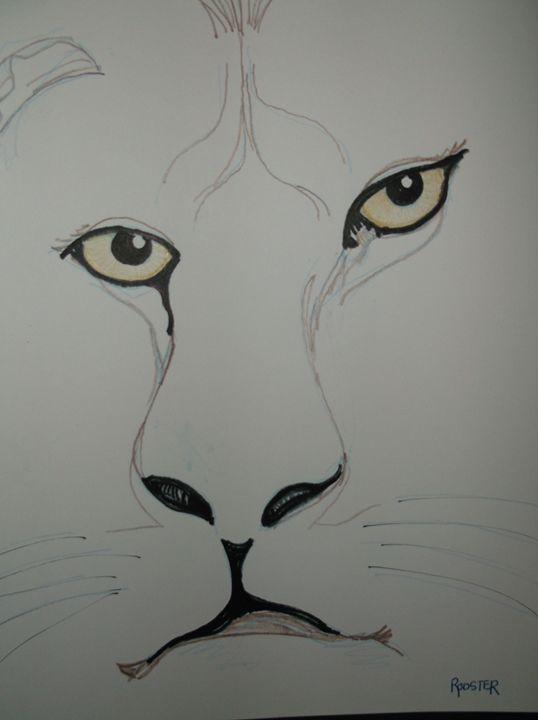 Lion - Rodster Art