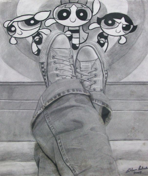 Self-Portrait - Blanca Estrada B.E. Art